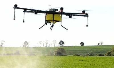 Pulverização Aérea com Drones