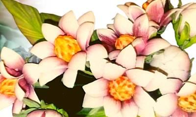 Artesanato - Flores e Arranjos em E.V.A
