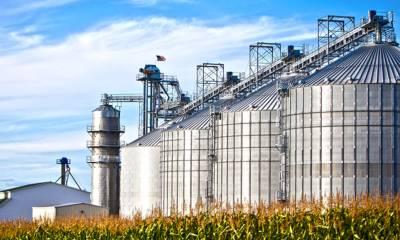 Secagem e armazenagem de grãos