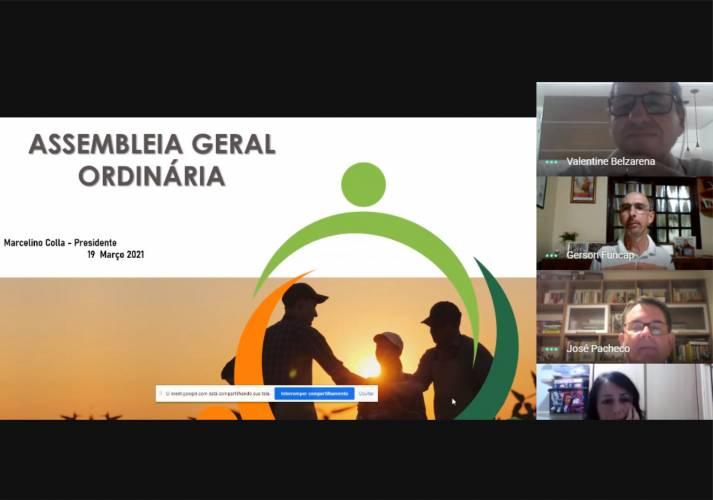 Marcelino Colla é reeleito presidente da Unitec