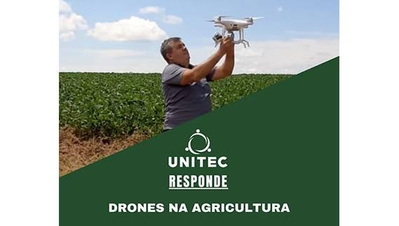 Drones na agricultura é tema de bate-papo da Unitec no dia 7